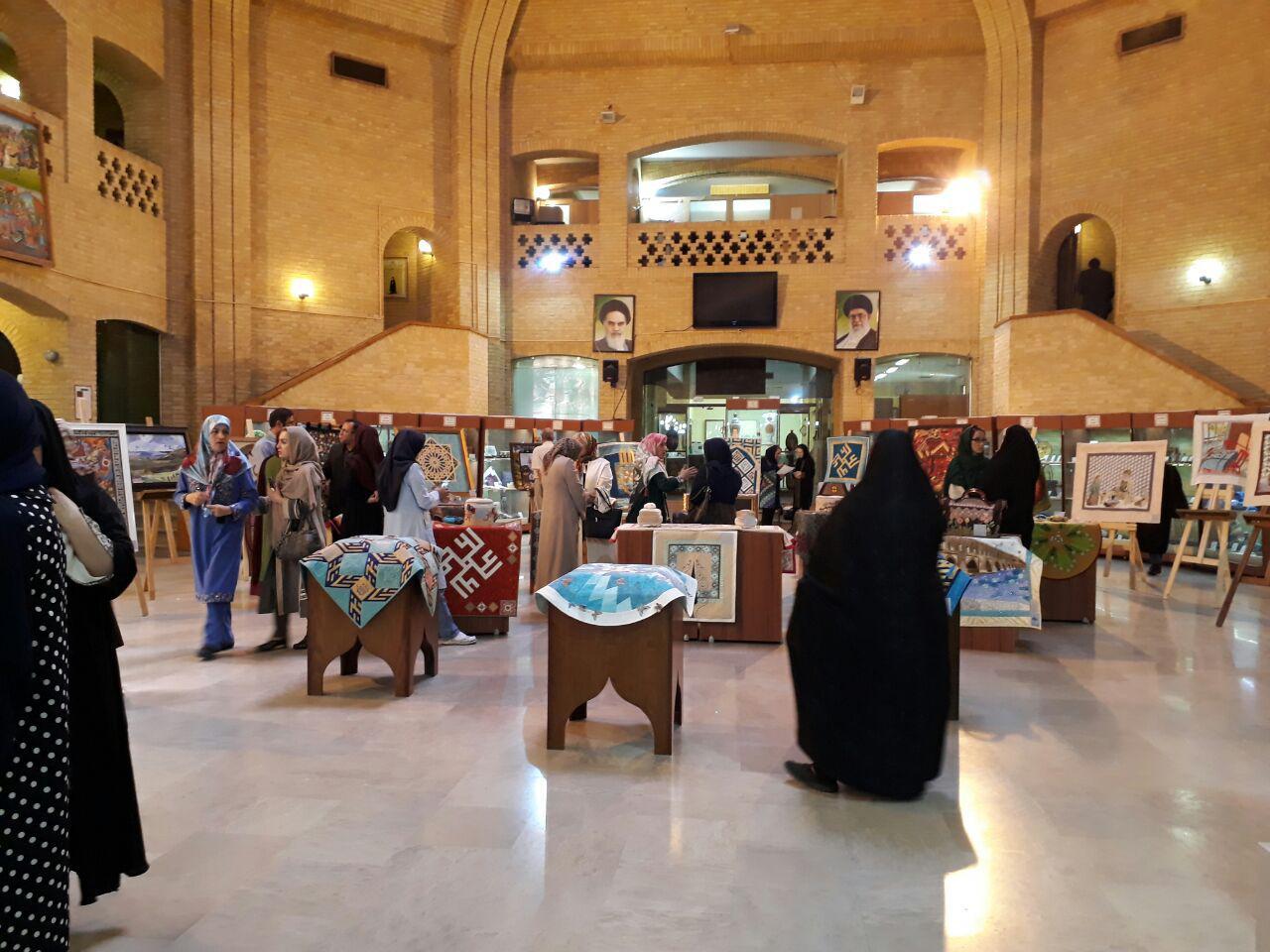 نمایشگاه تکهدوزی